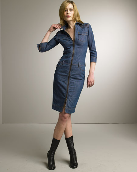 womens denim dress uk with brilliant type in thailand