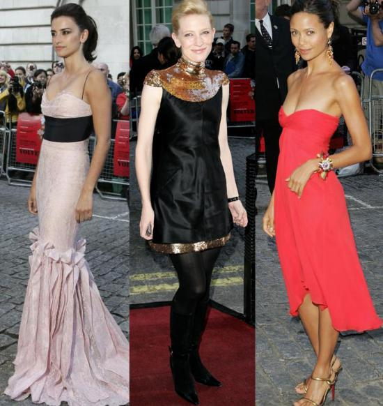 Check out Penelope, Cate Blanchett, and Thandie Newton at the UK premiere of