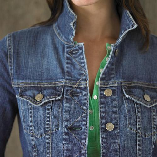 Wardrobe Staple - The Little Denim Jacket | POPSUGAR Fashion