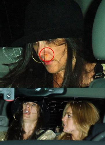 What S Up Demi S Nose Popsugar Celebrity